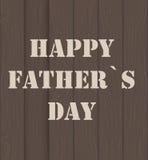 Illustrazione felice di vettore di Day Poster Card del padre Fotografia Stock Libera da Diritti