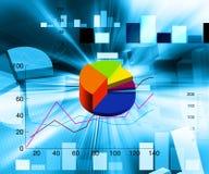 Illustrazione finanziaria illustrazione di stock