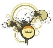 Illustrazione floreale decorativa immagini stock libere da diritti
