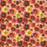 Illustrazione floreale dell'acquerello fotografia stock libera da diritti
