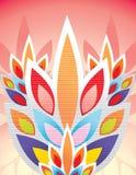 Illustrazione floreale di strutture Fotografia Stock Libera da Diritti