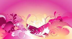Illustrazione floreale di vettore illustrazione di stock