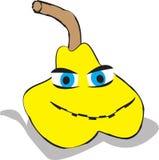 Illustrazione gialla della pera illustrazione vettoriale