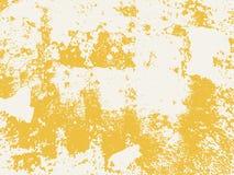 Illustrazione gialla della priorità bassa di struttura Fotografia Stock