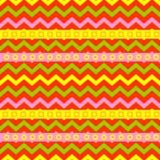 Illustrazione grafica geometrica di vettore del fondo di struttura della geometria di arte di colore senza cuciture astratto del  Fotografie Stock