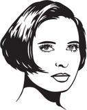 Illustrazione graziosa della donna Immagine Stock Libera da Diritti