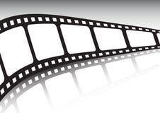 Illustrazione infinita di vettore della striscia della pellicola illustrazione di stock
