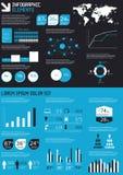 Illustrazione infographic del particolare. Fotografia Stock