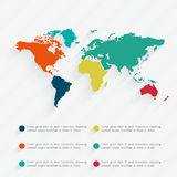 Illustrazione infographic di vettore del dettaglio Fotografia Stock