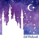 Illustrazione islamica disegnata a mano Fotografie Stock Libere da Diritti