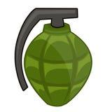 Illustrazione isolata granata a mano Immagine Stock Libera da Diritti
