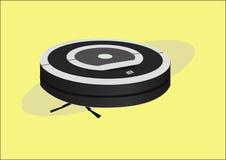 Illustrazione isolata vettore di un robot di vuoto illustrazione vettoriale