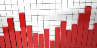 Illustrazione larga di rapporto Immagine Stock