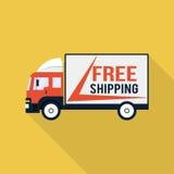 Illustrazione libera del camion di trasporto Fotografia Stock