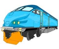 Illustrazione locomotiva Fotografie Stock