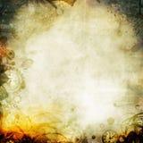 Illustrazione malinconica del fondo di autunno di seipa Fotografie Stock Libere da Diritti