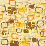 Illustrazione marrone astratta. Vettore Immagini Stock