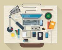 Illustrazione moderna di vettore di progettazione piana Fotografia Stock