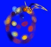 Illustrazione multicolore degli ambiti di provenienza astratti Fotografia Stock