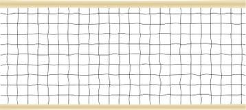 Illustrazione netta di vettore di pallavolo o di tennis Fotografia Stock