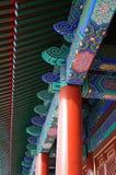 Illustrazione o reticolo colorata cinese Fotografia Stock Libera da Diritti