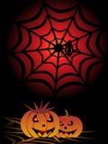 Illustrazione per Halloween Fotografia Stock Libera da Diritti