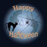 Illustrazione per Halloween Illustrazione di Stock