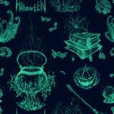 Illustrazione per Halloween Immagini Stock Libere da Diritti