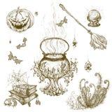 Illustrazione per Halloween Immagini Stock