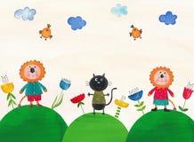 Illustrazione per i bambini Fotografia Stock