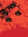 Illustrazione per la celebrazione felice di Halloween Immagini Stock