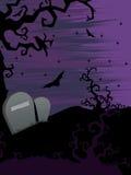 Illustrazione per la celebrazione felice di Halloween Immagini Stock Libere da Diritti