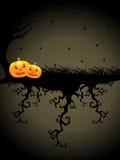 Illustrazione per la celebrazione felice di Halloween Fotografie Stock