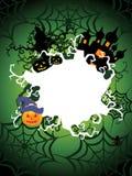 Illustrazione per la celebrazione felice di Halloween Fotografia Stock Libera da Diritti