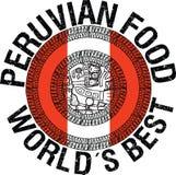 Illustrazione peruviana dell'alimento Fotografie Stock Libere da Diritti