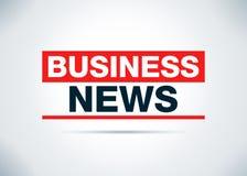 Illustrazione piana astratta di progettazione del fondo del Business News illustrazione di stock