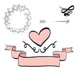 Illustrazione piana circa progettazione di scarabocchio Immagine Stock