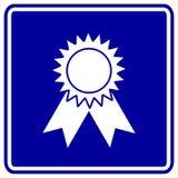 Illustrazione premiata di simbolo del segno di vettore Fotografia Stock Libera da Diritti