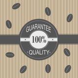 Illustrazione promozionale di vendite - caffè Fotografia Stock