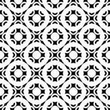 Illustrazione quadrata con le cifre tonde semplici, anelli, cerchi, griglia illustrazione vettoriale