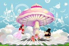 Illustrazione: Quando avete un buon matrimonio Possederete l'intero mondo! Fotografie Stock