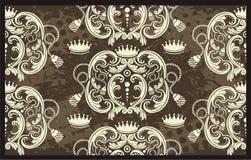 Illustrazione regale del reticolo Immagine Stock