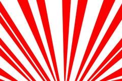 Illustrazione rossa del fondo di Sun Fotografie Stock Libere da Diritti