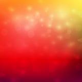 Illustrazione rossa e gialla astratta di vettore del fondo di tono di colore Fotografia Stock