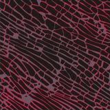 Illustrazione scura artistica di vettore del fondo dei mattoni Fotografia Stock Libera da Diritti