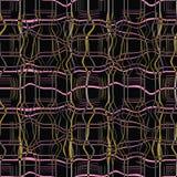 Illustrazione senza cuciture astratta del modello di struttura marmorizzata del plaid immagine stock