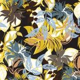 Illustrazione senza cuciture del fiore della primavera illustrazione di stock