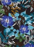 Illustrazione senza cuciture del fiore della primavera illustrazione vettoriale