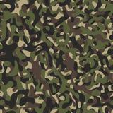 Illustrazione senza cuciture del fondo del modello del cammuffamento I militari cammuffano Fotografie Stock Libere da Diritti