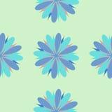 Illustrazione senza cuciture dell'ornamento del fiore Fotografie Stock Libere da Diritti